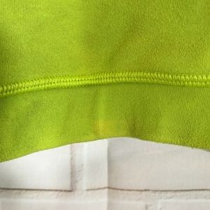 0f27c2b0f0cd8 lululemon athletica Intimates   Sleepwear - Lululemon Flow Y Sports Bra  Frog Green DEFECTS
